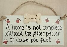 A home is not complete without the pitter patter of cockerpoo feet