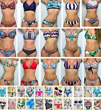 584abd901aae Bikini Swimsuit New Women Two Piece Bathing Set Padded Swimwear High Quality