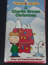 A Charlie Brown Christmas (VHS, 1999, Clamshell Case)