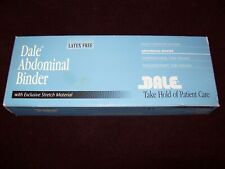 """Dale 810 Abdominal Binder 4 Panel 12"""" Wide Stretch to Fit 30""""-45"""""""