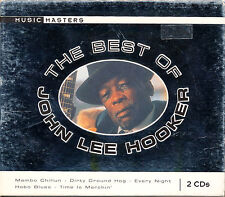 JOHN LEE HOOKER The Best of John Lee Hooker 2 Disc Set CD
