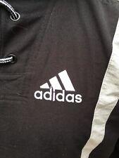 De Colección Adidas Abrigo/Chaqueta Con Capucha Negro Tamaño UK 32/34 nos L Seminuevo