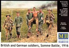 Master Box 1/35 British & German Soldiers, Somme Battle, 1916 # 35158