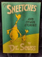 The Sneetches and Other Stories Dr. Seuss 1961 1st Edition Hardback ChildsBook