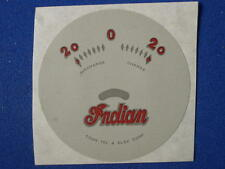 1938 INDIAN motorcycle FOUR, CHIEF, SCOUT AMP GAUGE FACE, ONE YEAR ONLY