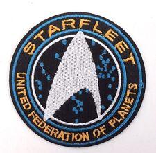 "Star Trek Beyond- Starfleet UFP Silver  4"" Embroidered Patch (STPA-SFC-11-R)"