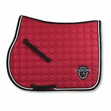 Equiline Brian Saddle Pad Red (PONY)