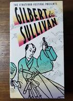 Gilbert and Sullivan 3 VHS SET *Rare* Pirates of Penzance, Iolanthe, Mikado