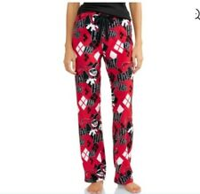 The Joker HARLEY Quinn Pajama Pants Women's Small NeW Soft Lounge Pjs NWT Batman