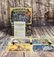 Goosebumps Shrieks And Spiders Board Game Halloween Party COMPLETE