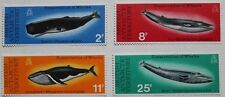 Whale conservation stamps, British Antarctic Territory, 1977, SG ref: 79-82, MNH