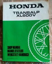 Reparaturanleitung Honda XL600 V Transalp, Werkstatthandbuch aus 1987