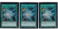 3 x drachenodem Le Zerstörung lckc-de025, secret rare, Allemand, Mint, PLAYSET