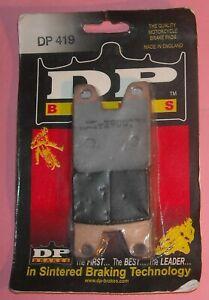 1 pair DP Brakes DP419 Standard Sintered Metal Brake Pads YAMAHA YZF R1 1998-01