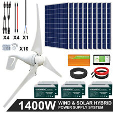 1400W 1000W 600W  Hybrid Wind & Solar Charge System Controller Home US