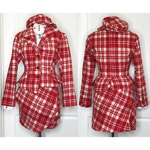 Vivienne Westwood Worlds End Harris Tweed Skirt Suit Set