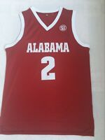 NEW Collin Sexton #2 Alabama Crimson Tide University Sewn basketball Jersey