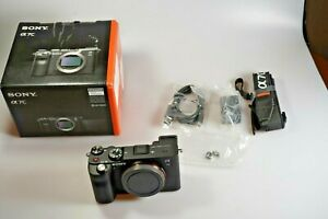 Sony Alpha a7C Mirrorless 24.2MP 4K Full Frame Camera - Black ILCE7C/B EXTRAS