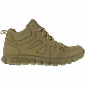 Reebok Men's Sublite Cushion Boot Tactical Mid Coyote - RB8406 Military Boot