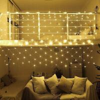 Christmas Waterproof Net Mesh Wedding Home Fairy Outdoor Flashing String 200 LED