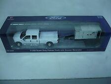 FIRST GEAR FORD F-150 SUPER DUTY PICKUP TRUCK & DOOSAN GENERATOR, 1:34 SCALE