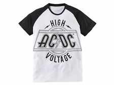 AC/DC LICENSED T-SHIRT NEU/NEW HIGHWAY TO HELL HARD ROCK BLACK ICE TOUR MENS TOP