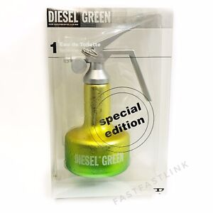 DIESEL GREEN FEMININE SPECIAL EDITION 75ml EDT SPRAY WOMENS PERFUME.. SEALED BOX