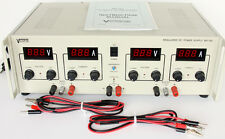 Vector-Vid WP-78A 0-30V 0-5A Adjustable Triple Output DC Power Supply Tracking