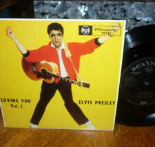 """*<* UNPLAYED MINT ELVIS """"LOVING YOU"""" +3 UK-only AUSTRALIA EP/PICTURE COVER!"""