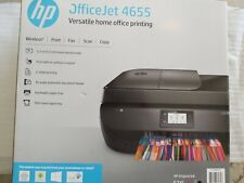 HP OFFICE JET 4655 ALL-IN-ONE WIRELESS PRINT FAX SCAN COPY  As-is