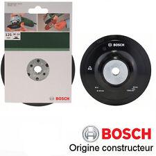 plateau 125mm à serrer M14 pour meuleuse angulaire, bosch 2609256257