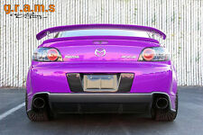 Mazda RX-8 JDM Style Rear Number Plate Surround Holder Border Frame V6