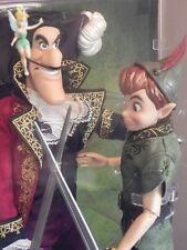 PETER PAN CAPTAIN CROCHET Poupée Edition Limitée Disney Villains DESIGNER doll