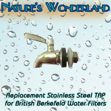 Stainless Steel TAP - suits British Berkefeld® & Durand® Water Filter Systems
