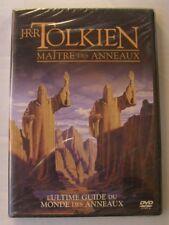 DVD J.R.R. TOLKIEN MAITRE DES ANNEAUX - L'ultime guide du monde des anneaux NEUF