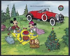 Gambia Block 81 (943) **, Walt Disney - Automobile / Cars - Blackhawk (12 ME)