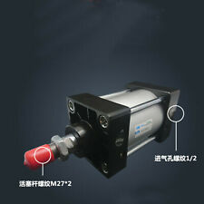 SC125-700 Bore: 125mm Stroke: 700mm Single Thread Rod Dual Action Air Cylinder
