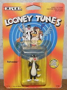 ERTL Looney Tunes von 1989 SYLVESTER NEU im Blister NEW Blister