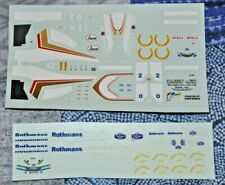 Decal TAMEO KITS 1/43 WILLIAMS FW 16 SENNA HILL 1994 IMOLA CARTOGRAF