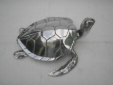 Large Metal Turtle Statue Figurine Sculpture Tortoise 16 inches Home & Garden .