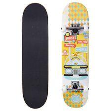 Cal 7 Gangbuster Complete 7.75 Skateboard 5 Inch Trucks Kids Adults Starter