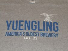 Yuengling Brewery Shirt Mens Large Gray Beer Lager
