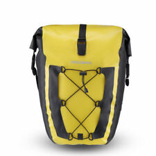 ROCKBROS Waterproof Pannier Bag Cycling Bike Travel Rear Seat Carrier 27L Yellow