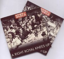 A RIGHT ROYAL KNEES UP - PROMO 2 CD SET (2011) CULTURE CLUB, BRYAN FERRY ETC