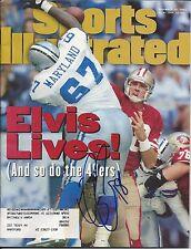 Elvis Grbac San Francisco 49ers Signed Sports Illustrated Full Magazine w/COA