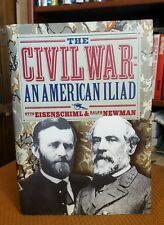 The Civil War an American Iliad by Ralph G. Newman (1995, HCDJ) CLEAN