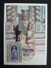 ANDORRA MK 1973 MADONNA MAXIMUMKARTE CARTE MAXIMUM CARD MC CM c793