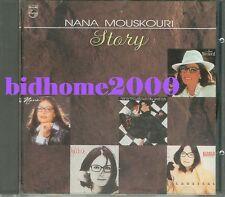 Nana Mouskouri - Story CD (T113-01 銀圈版) 1990 Polygram