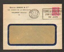 """TALENCE (33) FABRIQUE DE MEUBLES / MENUISERIE """"Gaston GIMON & Cie"""" en 1939"""