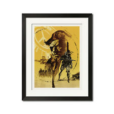 Metal Gear Solid Peace Walker Big Boss Poster Print